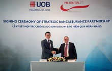 Prudential Việt Nam và ngân hàng UOB Việt Nam ký kết hợp tác chiến lược kinh doanh bảo hiểm qua ngân hàng