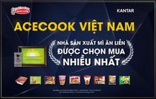 Acecook Việt Nam là nhà sản xuất mì ăn liền được người tiêu dùng lựa chọn nhiều nhất năm 2018, 2019