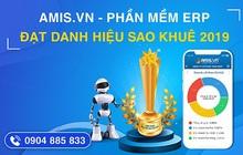 Ứng dụng trí tuệ nhân tạo, phần mềm AMIS.VN xuất sắc đạt danh hiệu Sao Khuê 2019