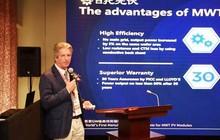 Giáo sư Martin Green nói về lĩnh vực sản xuất pin mặt trời theo công nghệ Metal Wrap Through (MWT)