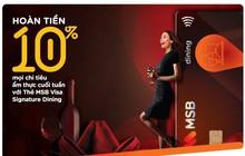 MSB ra mắt thẻ tín dụng hoàn tiền cao trong lĩnh vực ẩm thực