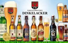 Bia thủ công Dinkelacker - Hãng bia gia đình truyền thống tại Đức
