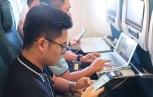 Tiên phong tại Việt Nam: Đi máy bay vẫn kết nối internet dễ dàng