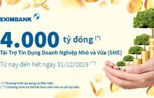 Eximbank dành 4.000 tỉ đồng cho các DN SME với lãi suất ưu đãi từ 6,99%