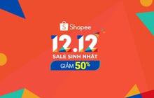 Shopee phá vỡ mọi kỷ lục với hơn 80 triệu lượt truy cập và 80 triệu sản phẩm bán ra trong sự kiện 12.12 Sale Sinh Nhật