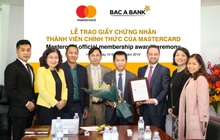 Bac A Bank trở thành thành viên chính thức của Mastercard