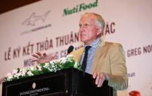 Nutifood hợp tác cùng huyền thoại golf Greg Norman mang văn hóa cà phê Việt ra thế giới
