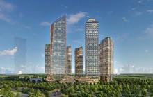 Loạt tòa tháp chọc trời dồn dập đổ bộ, biến nơi đây thành trung tâm tài chính - thương mại mới của Hà Nội