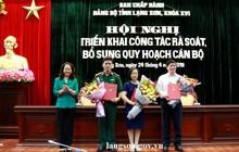 Lạng Sơn bầu bổ sung 3 nhân sự Ban Thường vụ Tỉnh ủy