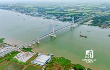 Ngắm cây cầu dây văng 5.700 tỷ đồng lớn thứ hai sông Hậu nối Cần Thơ với Đồng Tháp