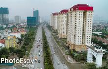 Cận cảnh hàng loạt dự án cao ốc dọc trục đường 8 làn xe tại trung tâm Hà Nội