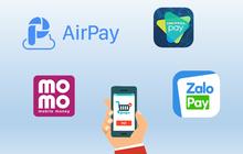 """4 """"ông lớn"""" ví điện tử Momo, ViettelPay, ZaloPay, AirPay ai thu phí dịch vụ ít nhất?"""