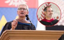Mượn lời dạy 14 năm trước của Steve Jobs, Tim Cook cảnh báo sinh viên về sai lầm ông suýt phạm phải: Thời gian có hạn, đừng lãng phí để làm điều này!