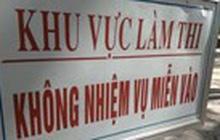 Gian lận điểm thi: Kỷ luật cảnh cáo Phó Chủ tịch tỉnh Hà Giang