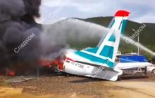 Máy bay chở 46 người cháy rụi sau tai nạn, hành khách sống sót thần kỳ, hai phi công bỏ mạng