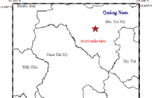 """Động đất kèm tiếng nổ lớn """"rung chuyển"""" Bắc Trà My"""