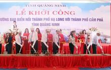 Khởi công xây dựng đường bao biển nối Hạ Long và Cẩm Phả