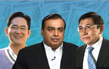 20 gia tộc giàu nhất châu Á nhiều tiền đến cỡ nào?