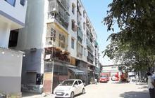 Tp.HCM: kiến nghị khẩn cấp tháo gỡ chung cư 581 Võ Văn Kiệt (Q.1) bị nghiêng
