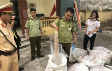 Phát hiện hơn 3 tấn nầm, lòng lợn ôi thối nhập lậu từ Trung Quốc