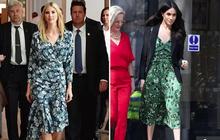 Trước khi chạm trán với con gái Tổng thống Mỹ, Meghan Markle từng phát cuồng, tôn sùng Ivanka Trump và tìm cách bắt chước phong cách