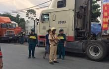 Ảnh: Theo chân công an chốt chặn, xử lý tài xế container sử dụng ma túy