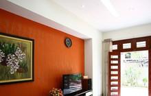 Ngôi nhà sinh động hơn với những điểm nhấn nóng