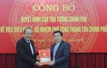 Điều động, bổ nhiệm Phó Tổng Thanh tra Chính phủ