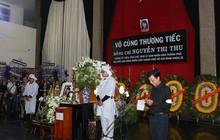 Hàng ngàn người tiễn đưa Phó Chủ tịch UBND TP Nguyễn Thị Thu về nơi an nghỉ cuối cùng