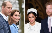 Không phải mâu thuẫn giữa Kate và em dâu Meghan, đây mới là lý do thực sự khiến hai cặp đôi hoàng gia quyết định đường ai nấy đi