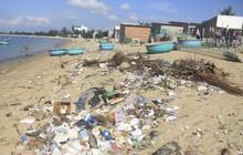 Ninh Thuận: Rác thải tràn ngập bãi biển du lịch Ninh Chữ