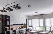 Căn hộ có nội thất bằng gỗ ấm áp và sang trọng