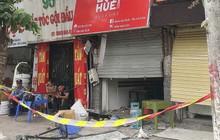 Nghi nổ khí ga, nhiều cửa nhà hàng tại Hà Nội bị thổi bay trong đêm