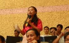 Cử tri tiếp tục hỏi bà Nguyễn Thị Quyết Tâm về vấn đề Thủ Thiêm