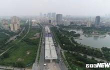 Ảnh: Hình hài con đường trên cao hơn 5.000 tỷ đồng ở Hà Nội