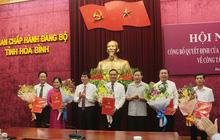 Công bố quyết định của Ban Thường vụ Tỉnh ủy về công tác cán bộ