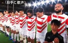 Khoảnh khắc xúc động: Ngay khi Quốc ca vang lên, tuyển Nhật Bản cùng các fan bật khóc vì thương đồng bào phải chống chịu siêu bão Hagibis