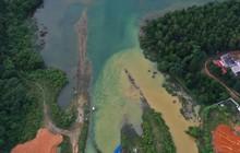 Hiện trường vụ đổ trộm dầu thải đầu nguồn nước sông Đà ra sao sau một tuần?