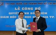 Đại học Quốc gia TPHCM có Phó giám đốc mới