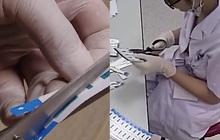 BV Xanh Pôn nói thử nghiệm, công ty cung cấp test không biết thử nghiệm làm gì