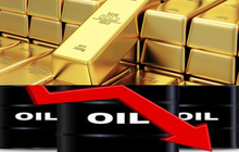 Thị trường ngày 24/1: Dầu giảm 2%, vàng tăng cao do lo ngại virus corona