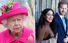 """Vợ chồng Meghan Markle nhận """"cú đánh chí mạng"""": Nữ hoàng được cho là cấm cặp đôi sử dụng thương hiệu hoàng gia Sussex để kiếm tiền"""