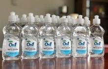 Đồng hành chống dịch nCoV: Lixco ra mắt gel rửa tay khô và dung dịch rửa tay thương hiệu On1
