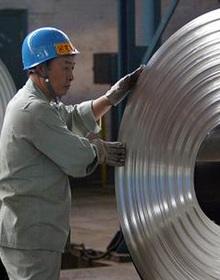 Giá thép ở Trung Quốc đang tăng mạnh