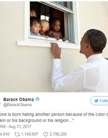 Gần 3 triệu 'like', bài viết Twitter của ông Obama đạt kỷ lục nhiều người thích nhất mọi thời đại