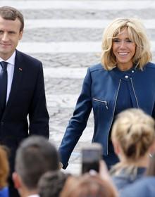 """Phu nhân tổng thống Pháp: """"Lỗi duy nhất của Emmanuel là trẻ hơn tôi"""""""