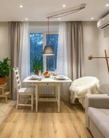 Thiết kế nội thất sang chảnh căn hộ 1 phòng ngủ cho người độc thân