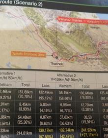 Cần hơn 4 tỷ USD làm tuyến đường sắt nối Viêng Chăn - Hà Tĩnh