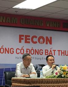 ĐHCĐ bất thường FECON: Phát hành thêm hơn 60 triệu cổ phiếu, giá chào bán cho cổ đông hiện hữu 15.000 đồng/cp