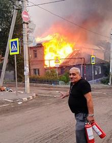 Nga: Cháy lớn thiêu rụi hơn 107 ngôi nhà, gần 100 người bị thương